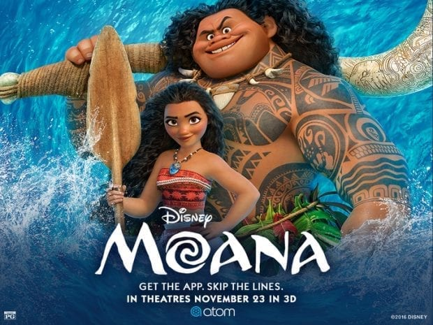 Save $5 on Moana tickets with code JAMONKEY
