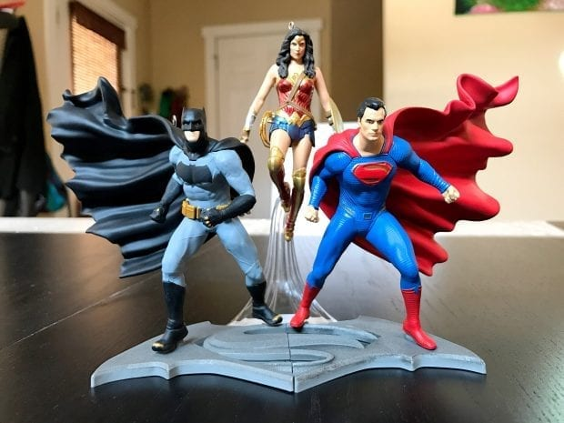Batman vs. Superman Dawn of Justice Hallmark Keepsake Ornaments