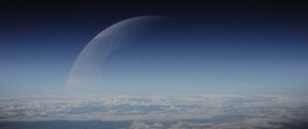 That's no moon! Photo credit: Lucasfilm/ILM