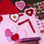 DIY Creative Galaxy Heart Day Hair Clips VIDEO