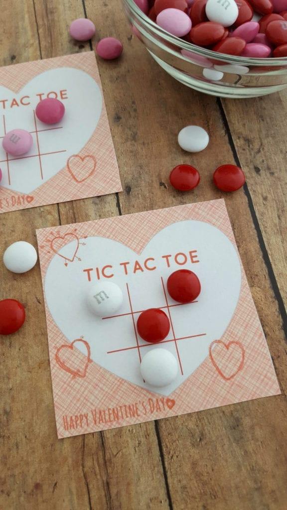 Tic Tac Toe Valentine Printable — JaMonkey