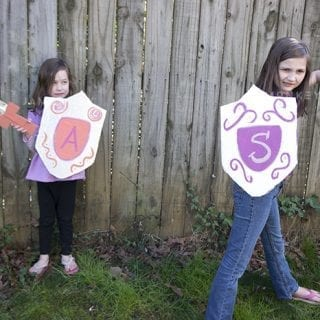 DIY My Knight and Me Inspired Shield and Sword