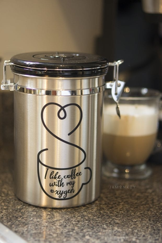 Gilmore Girls Coffee Canister Vinyl Printable