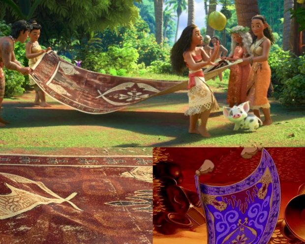Moana Rug Easter Egg All The Aladdin References You