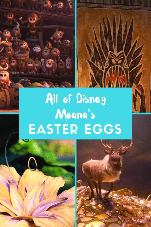 All of Disney Moana's Easter Eggs In Order