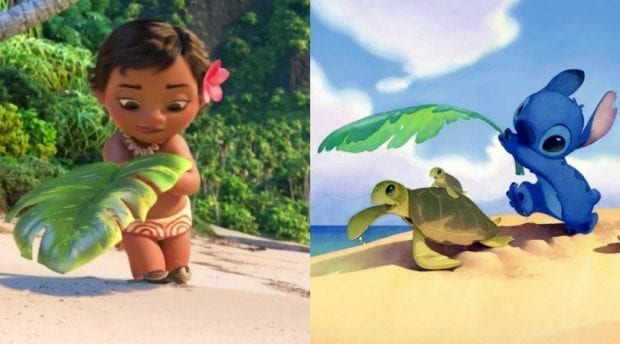 Moana Stitch Easter Egg