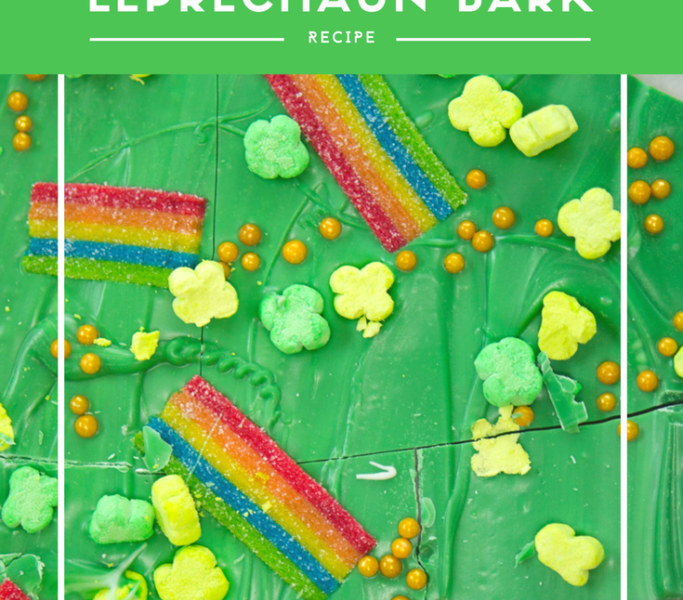 St. Patrick's Day Leprechaun Bark