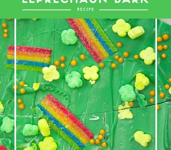 St. Patrick's Day Leprechaun Bark