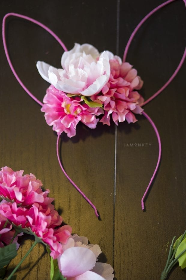 Spring Bunny Flower Crowns
