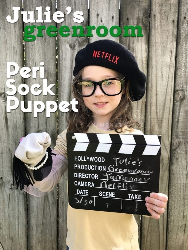 Introduce Your Children to the Arts - Julie's Greenroom Peri Sock Puppet