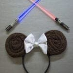 DIY Princess Leia Minnie Ears – Win Rogue One