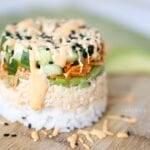 Spicy Tuna Sushi Stack