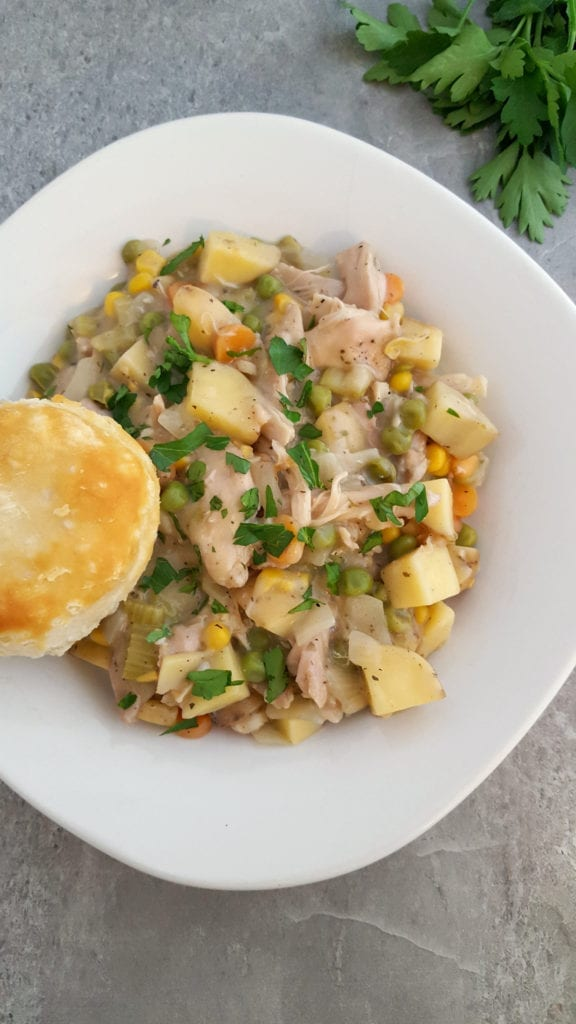Crock Pot Chicken Pot Pie