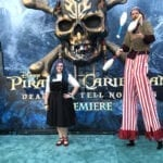 Walking the Red Carpet at the Pirates of the Caribbean: Dead Men Tell No Tales Premiere