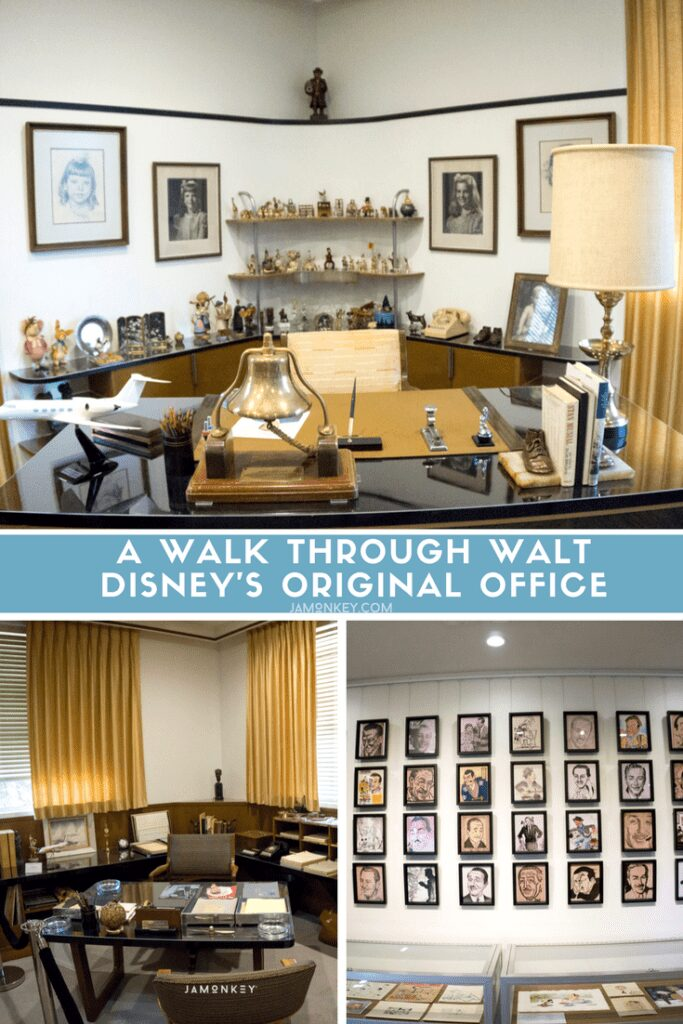 A Walk Through Walt Disney's Original Office
