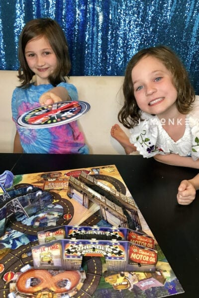 Cars 3 Risky Raceway Game Review from Spin Master