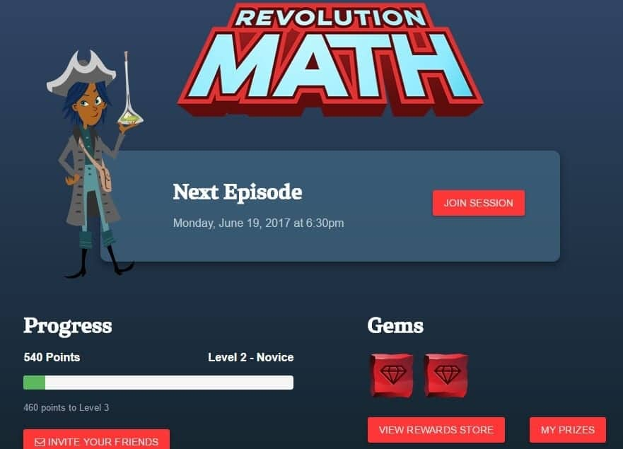 Battling the Summer Slide with Revolution Math an Online Tutoring Program