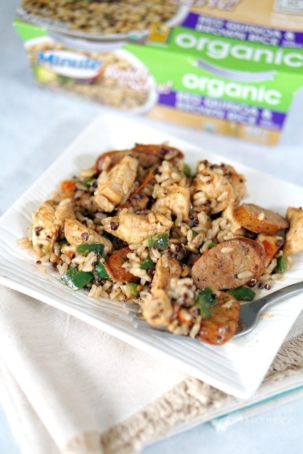 Easy Chicken Dirty Rice Recipe