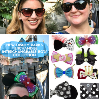 New Disney Parks Merchandise – Interchangeable Bow Collection