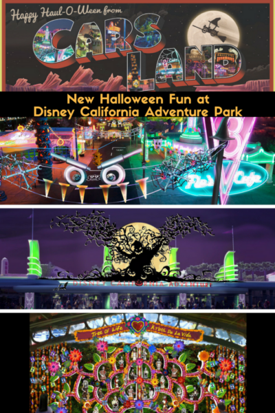 New Halloween Fun at Disney California Adventure Park