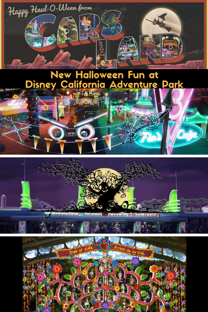 New Halloween Fun at Disney California Adventure Park
