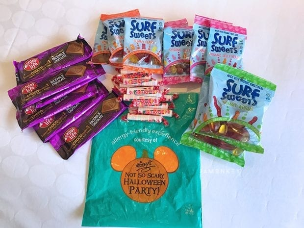 Allergy Options for the Mickey's Not So Scary Halloween Party