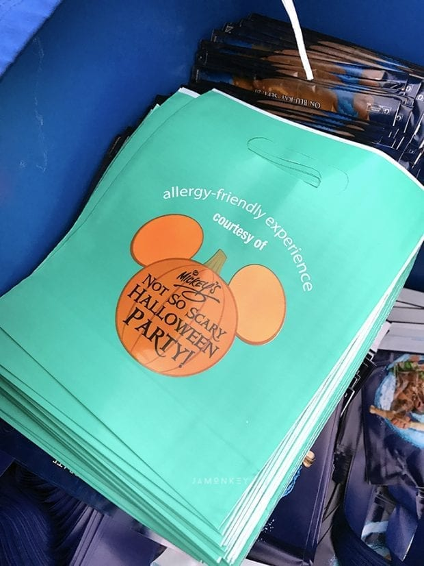 Teal Treat Bags for MNSSHP