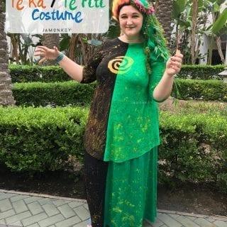 DIY Moana Te Ka /Te Fiti costume