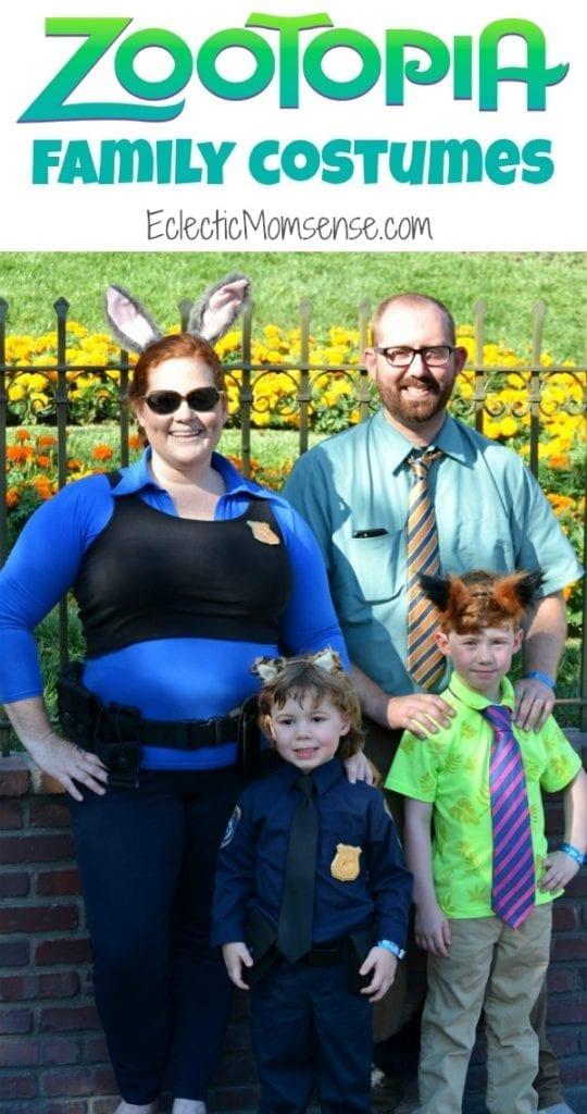 Zootopia Family Costume