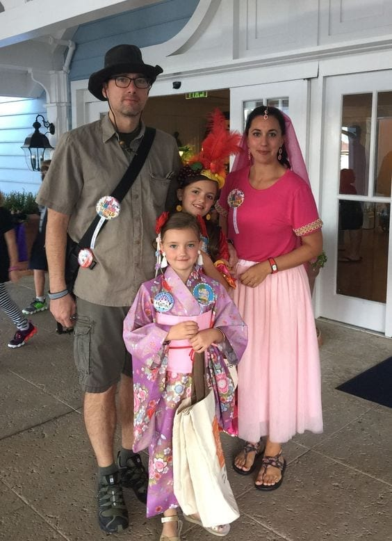 It's a Small World Ride Family Costume Ideas