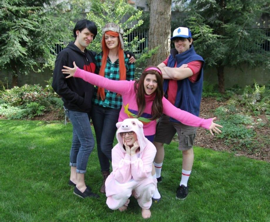 Gravity Falls Family Costume