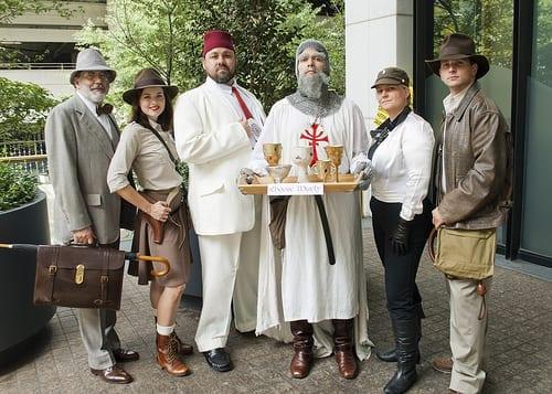 Indiana Jones Family Costume