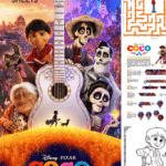 Disney Pixar Coco Printable Activity Sheets and Coloring Pages