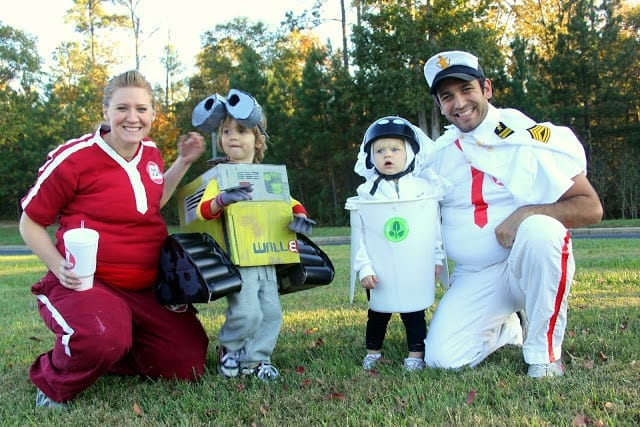 Wall-e Family Costume