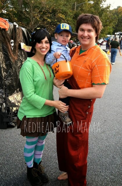 Wreck-It Ralph Family Costume