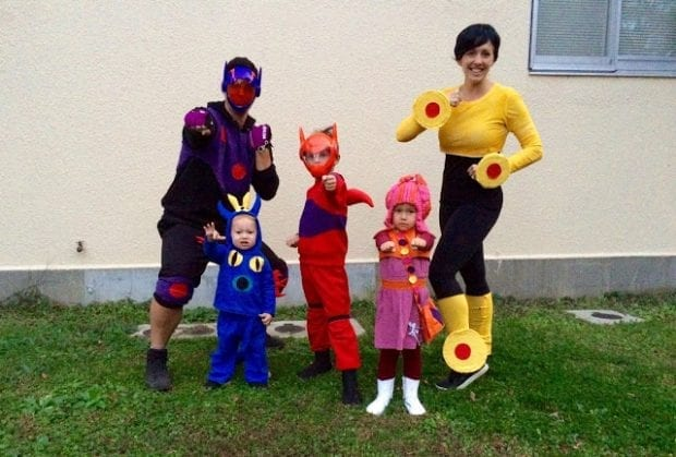 Big Hero 6 Family Costumes