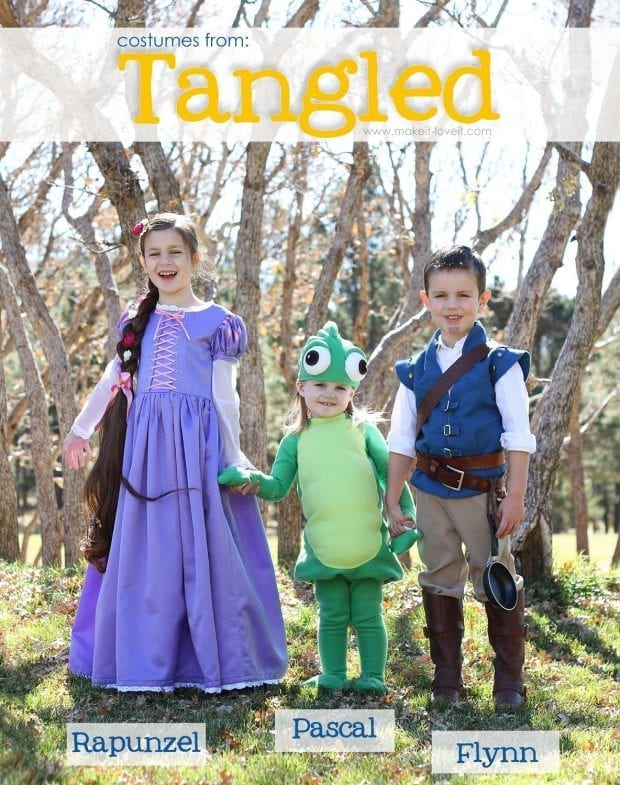 Tangled Family Costumes