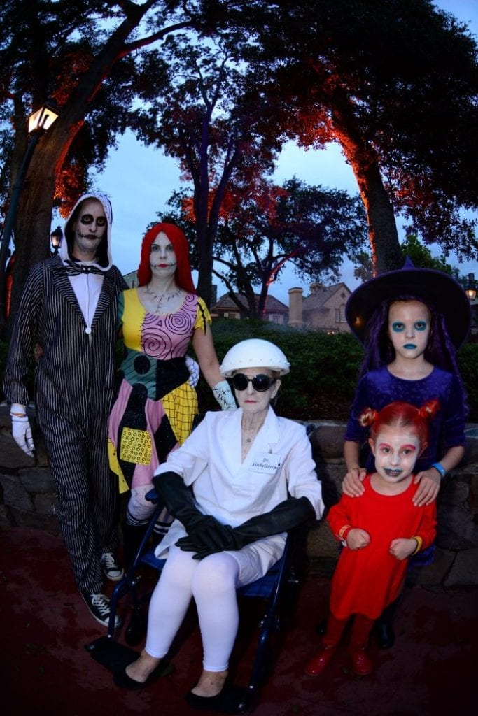 Nightmare Before Christmas Family Costume