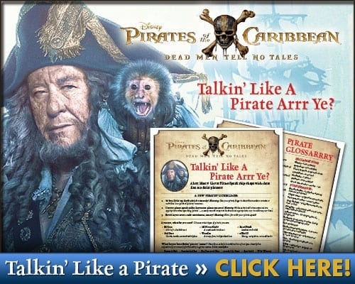 Talk Like a Pirate Printable