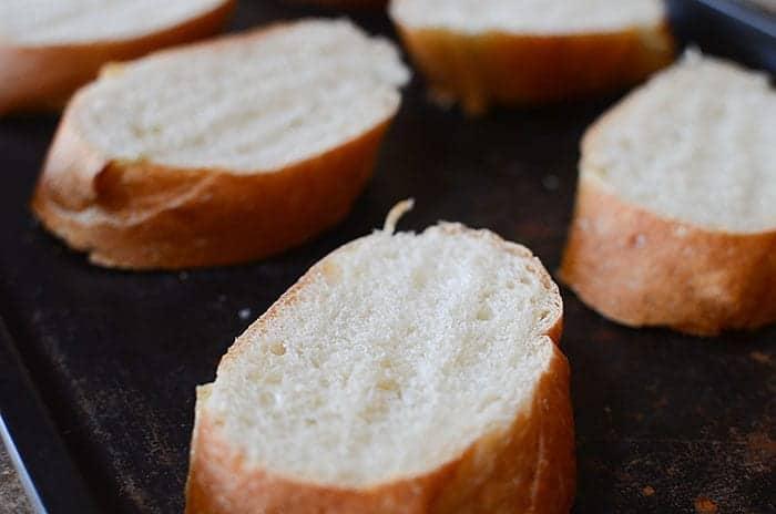 Demogorgonzola Crostini - Stranger Things Inspired Foods