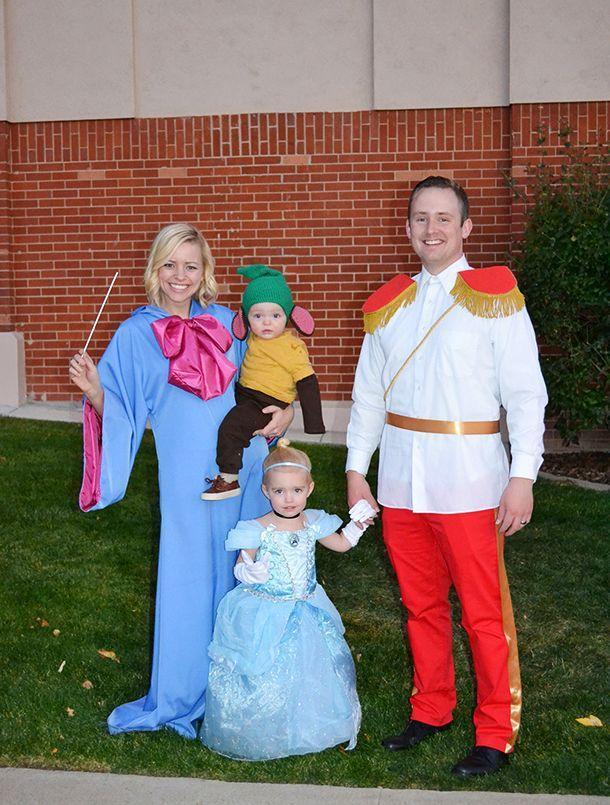 Cinderella Family Costume
