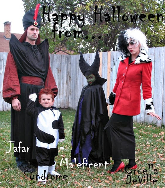 Disney Villain Family Costumes