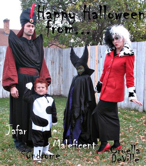 Disney Villain Family Costumes