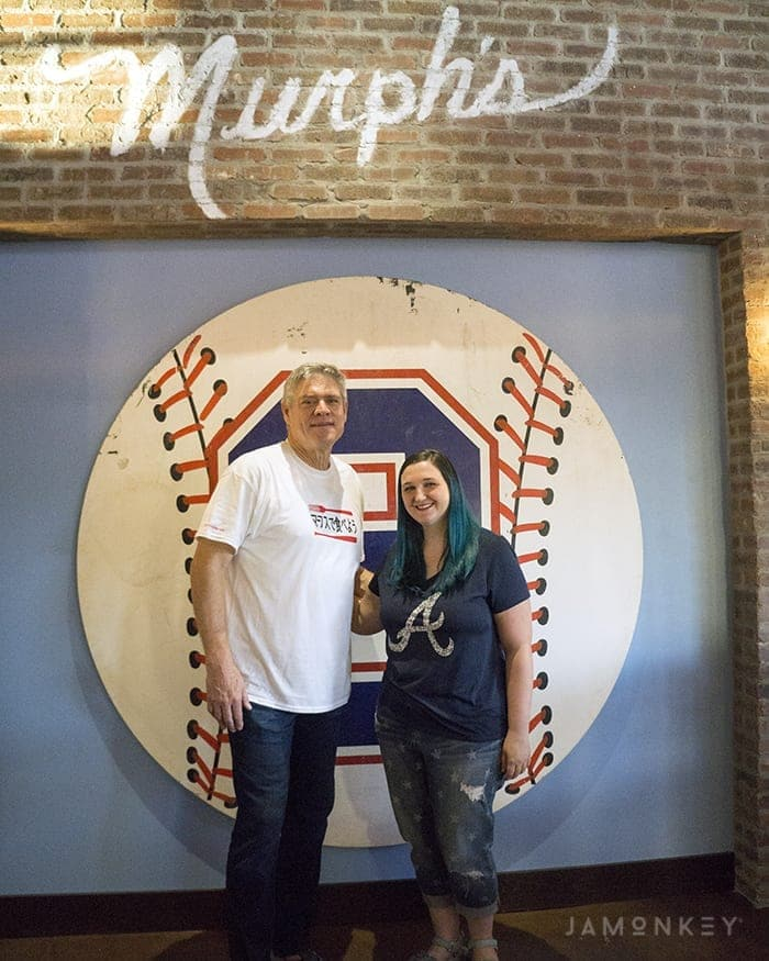 Dinner with a Braves MVP at Murph's