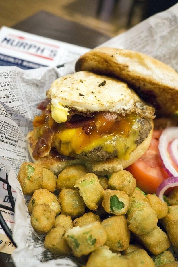 Bourbon Bacon Burger Murph's Way