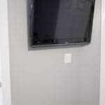 Easy Way to Hide Wall Mounted TV Cords