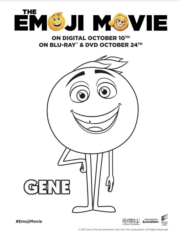 The Emoji Movie Printables