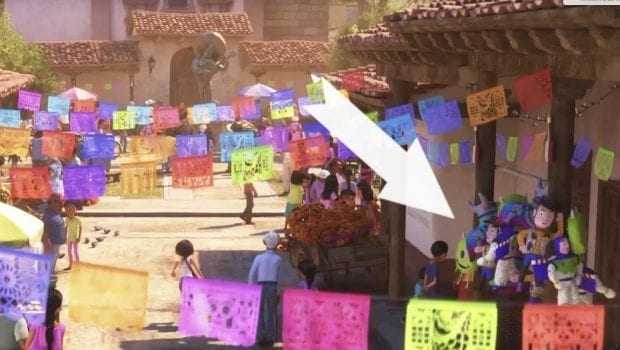Toy Story / Monsters Inc in Coco