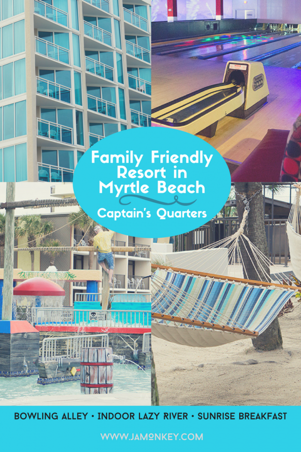 Fun Family Resort - Captain's Quarters in Myrtle Beach