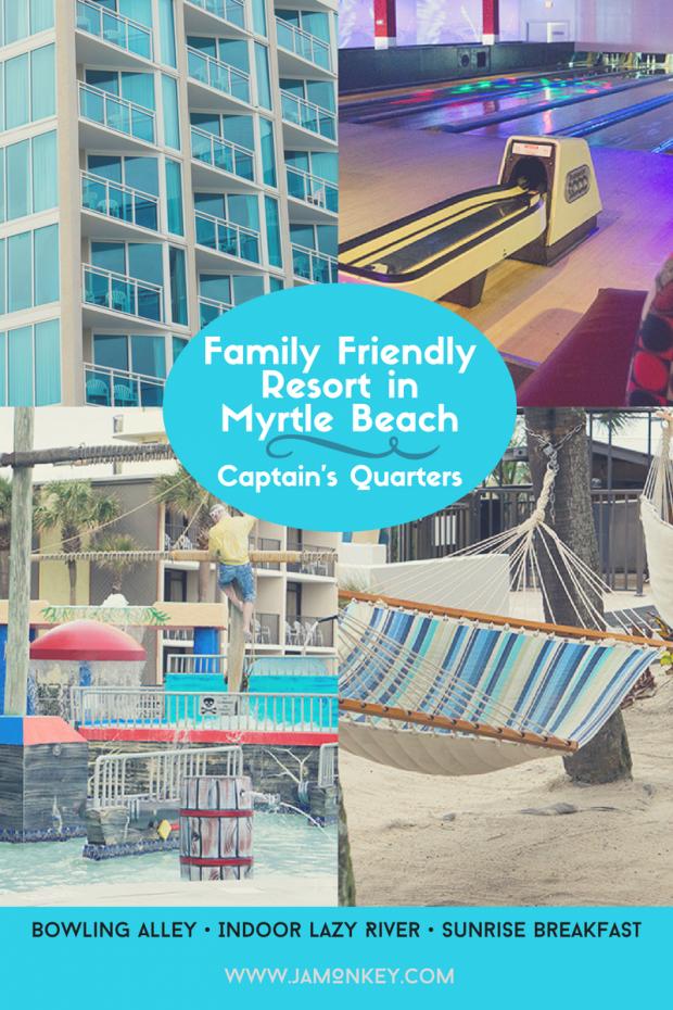 Fun Family Resort - Captain's Quarters in Myrtle Beach